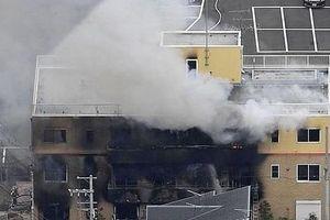 Xưởng phim hoạt hình bốc cháy, gần 40 người thương vong