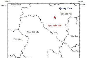 Động đất 3,8 độ richter kèm theo nổ lớn ở gần thủy điện Sông Tranh 2