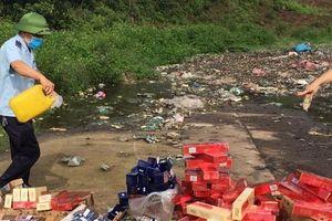 Quảng Ninh: Thu giữ hơn 54.000 bao thuốc lá ngoại nhập lậu