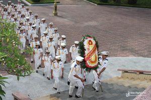 Cục Thi hành án dân sự tỉnh dâng hoa tưởng niệm Chủ tịch Hồ Chí Minh