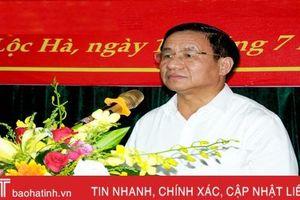 Bí thư Tỉnh ủy Hà Tĩnh: Tập trung xây dựng đề án nhân sự chuẩn bị cho đại hội Đảng các cấp