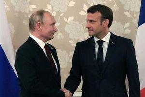 Lãnh đạo Nga và Pháp thảo luận về thỏa thuận hạt nhân Iran