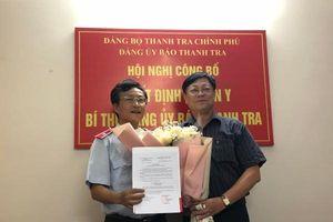 Công bố quyết định chuẩn y Bí thư Đảng ủy Báo Thanh tra đối với ông Trần Đăng Vinh