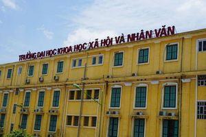 Trường ĐH Khoa học, Xã hội và Nhân văn Hà Nội công bố điểm sàn năm 2019