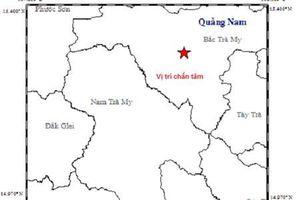 Động đất kèm tiếng nổ lớn ở khu vực thủy điện Sông Tranh 2