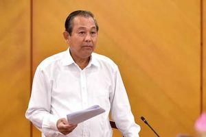 Phó thủ tướng Trương Hòa Bình: 'Có kết luận thanh tra rồi mà 3-5 tháng không động đậy gì'