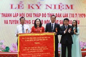 Hội Chữ thập đỏ tỉnh Đắk Lắk kỷ niệm 40 năm ngày thành lập
