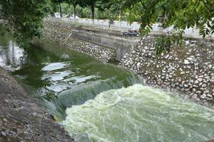 Xả 1 triệu khối nước, cuốn trôi công nghệ Nhật ở sông Tô Lịch: Chuyện bình thường!