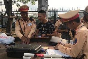 Hà Nội xử lý trên 3.200 phương tiện vi phạm