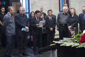 Vĩnh biệt hai người bạn lớn của nhân dân Việt Nam
