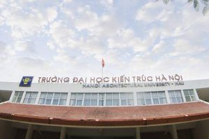 Đại học Kiến trúc Hà Nội công bố ngưỡng điểm xét tuyển từ 14 đến 20