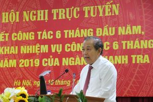 Phó Thủ tướng Trương Hòa Bình: Phát hiện tham nhũng qua công tác thanh tra còn hạn chế