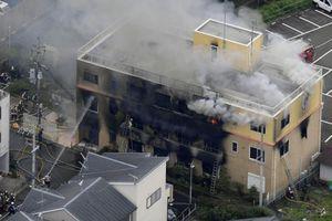 Cháy xưởng phim Nhật Bản: Con số thiệt mạng tăng lên 24 người