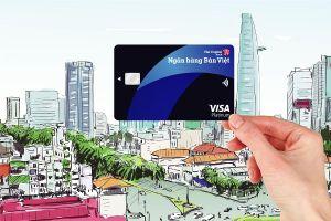 Mở thẻ Visa Bản Việt được hoàn tiền đến 3 triệu đồng