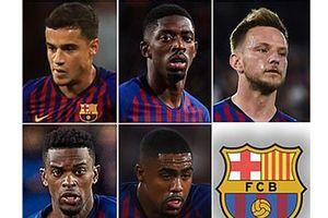 Barcelona gây sốc khi 'bán đứng' 6 siêu sao để mua Neymar