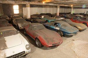 Bộ sưu tập Chevrolet Corvette phủ bụi 25 năm được bán đấu giá