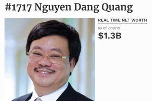 Cổ phiếu MSN bị bán mạnh, tỷ phú Nguyễn Đăng Quang 'thủng túi' gần 2.500 tỷ đồng