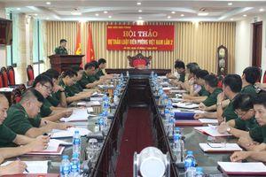 Hội thảo khoa học lần 2 dự thảo Luật Biên phòng Việt Nam