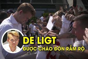 De Ligt được chào đón nồng nhiệt để thay thế Chiellini và cả Bonucci