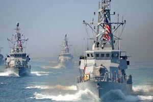 Tàu chiến Mỹ đã bắn hạ máy bay không người lái của Iran