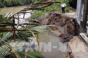 Cần Thơ: Sạt lở bờ sông gây thiệt hại gần 13 tỷ đồng