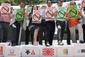 Người dân Hàn Quốc bắt đầu tẩy chay sản phẩm và dịch vụ từ Nhật Bản