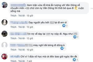 Hậu scandal xúc phạm Văn Thanh, Đỗ Vóc phải khóa bình luận, anti fans chuyển hướng tấn công tới tấp FB của Văn Dũng