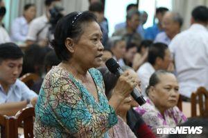 Chính quyền dành 4 ngày tiếp hơn 330 hộ dân Thủ Thiêm