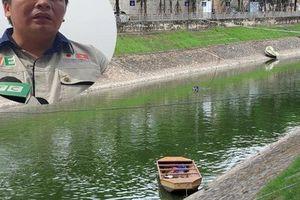 Chủ tịch đơn vị thí điểm xử lý ô nhiễm sông Tô Lịch xác nhận không nhận được thông báo xả nước hồ Tây