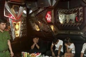 Đột nhập quán karaoke, phát hiện 47 người dương tính với ma túy