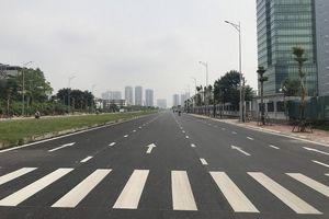 Cận cảnh đường 8 làn xe nối 3 quận nội thành Hà Nội