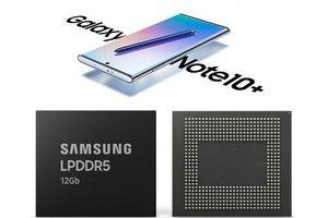 Samsung Galaxy Note 10 có thể được phát hành với bộ nhớ RAM LPDDR5 cực nhanh