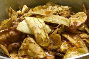 Cách làm món chuối ngào mật ong, món ăn vặt siêu ngon
