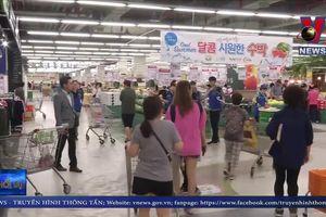 Người tiêu dùng Hàn Quốc tẩy chay hàng Nhật