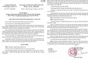 Bà Rịa - Vũng tàu: Xử phạt nhiều doanh nghiệp vi phạm BHXH, BHTN
