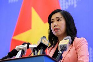 Tàu Trung Quốc vi phạm 'vùng biển hoàn toàn của Việt Nam'