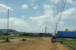 Làm rõ sai phạm việc xây dựng chui tại khu công nghiệp 72 ha