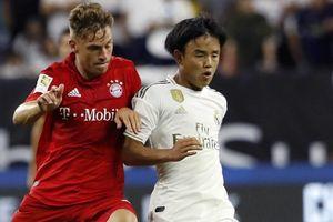 Cầu thủ người Nhật Bản gây ấn tượng trong màu áo Real