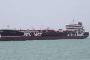 Iran bắt tàu dầu Anh trên vùng Vịnh