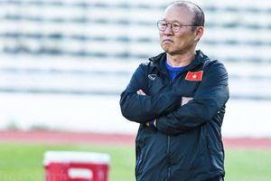 Vì sao HLV Park Hang-seo không dẫn dắt U22 Việt Nam đấu Trung Quốc?