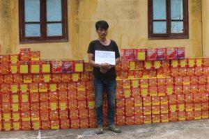 Bắt giữ gần 900kg pháo nổ vận chuyển từ Trung Quốc về Việt Nam