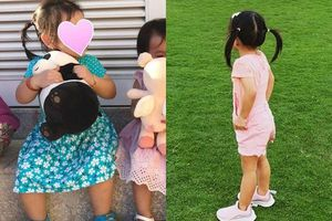 Lần đầu tiên, Tăng Thanh Hà quyết định chia sẻ ảnh cận mặt của con gái