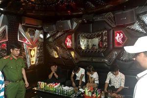 TP. Huế: Đột kích quán karaoke, phát hiện nhiều thanh niên sử dụng ma túy tập thể