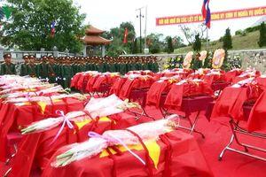 Nghệ An, Cao Bằng tưởng niệm, cầu siêu anh linh các Anh hùng liệt sĩ