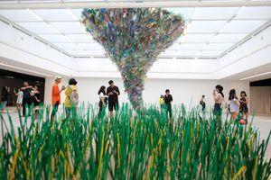 Khi nghệ thuật 'tấn công' rác thải nhựa