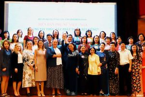 Diễn đàn Phụ nữ Việt - Nga 'Chung tay thúc đẩy phát triển bền vững'