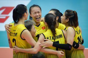 Bóng chuyền nữ Việt Nam lần đầu thắng Thái Lan ở cấp đội tuyển