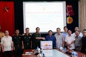 Trung tướng Trần Quang Phương thăm, làm việc với Trung ương Hội Nạn nhân chất độc da cam/dioxin Việt Nam