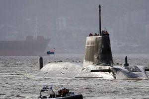 Anh điều tàu ngầm hạt nhân tới vịnh Ba Tư sau căng thẳng với Iran