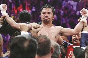 Nghị sỹ Pacquiao đoạt đai WBA hạng bán trung thế giới